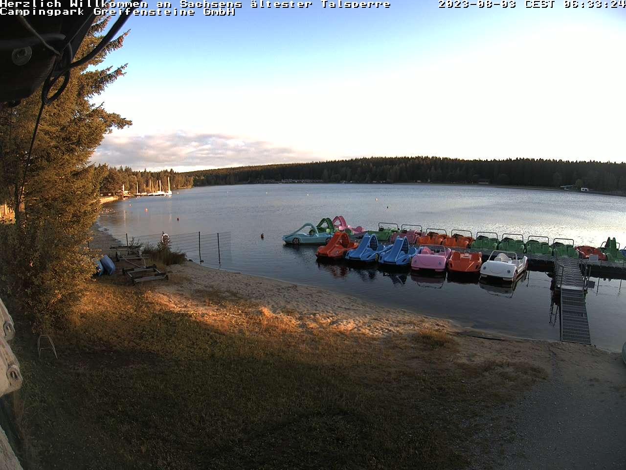Webcam Greifenbachstauweiher
